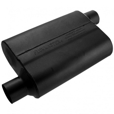 Flowmaster 42543 40 Series Muffler - 2.50 Offset In / 2.50 Offset Out - Aggressive -