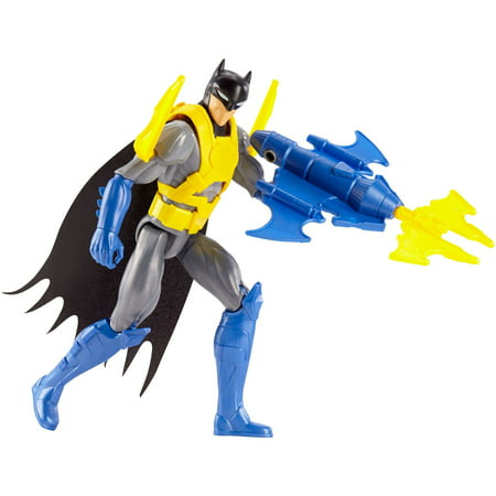DC Justice League Action Wing Tech Batman Figure with