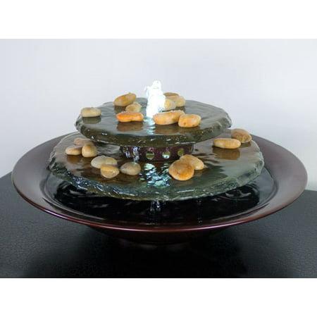 Tranquility Pool Tabletop Fountain Dark Copper (Dark Copper Fountain)