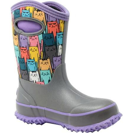 Perfect Storm 813562027978 Kid Cloud High Cats Boot, Purple Multi - Size 2 - image 1 de 1