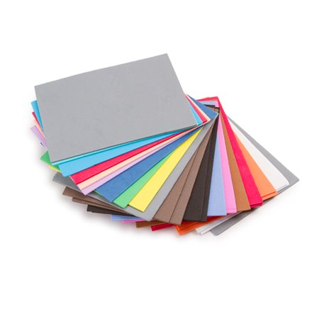 "Darice Foamies Sheet 4.5x6"" VP Assorted 100pc"
