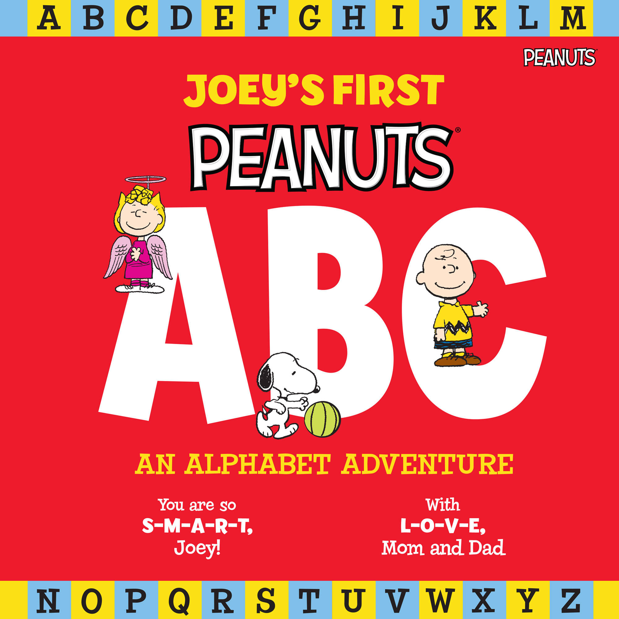 Personalized Book - My First Peanuts: ABC An Alphabet Adventure