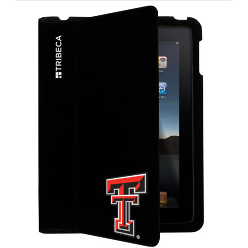Tribeca iPad 2 Folio, Texas Tech, Black