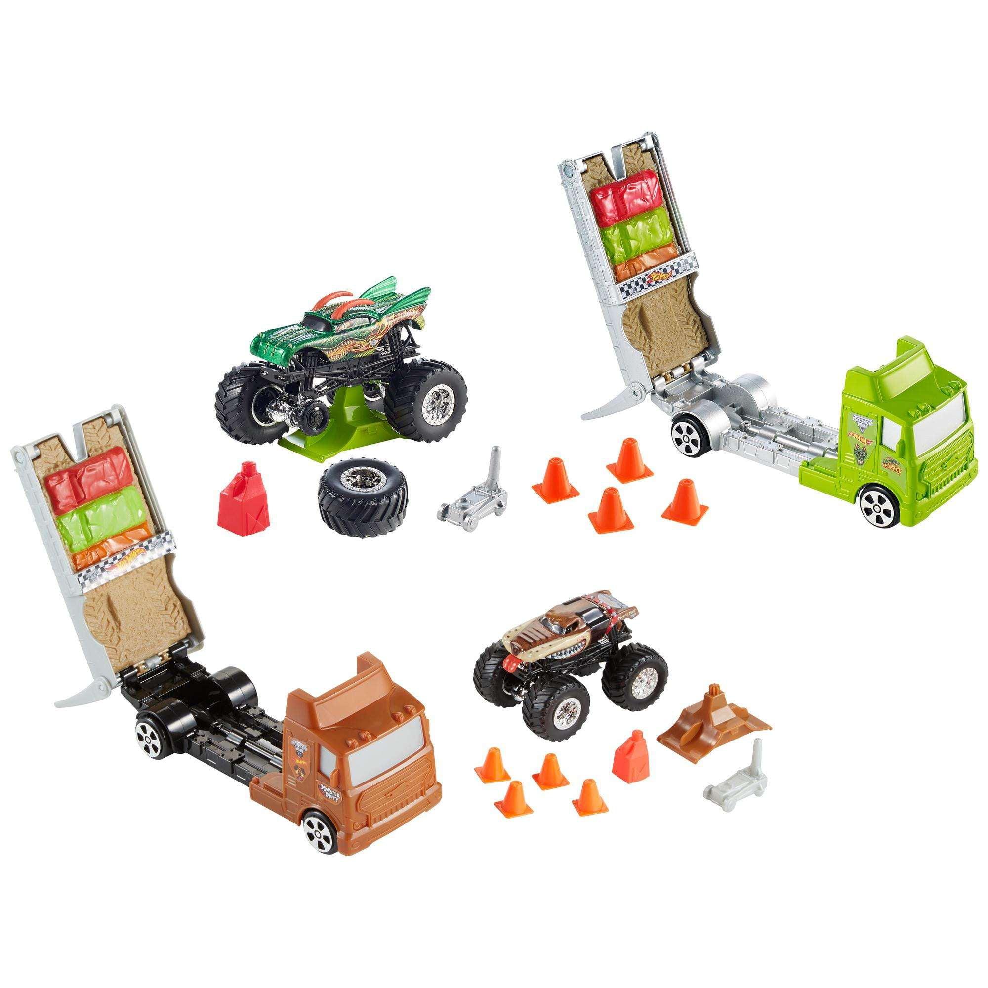 Hot Wheels Monster Jam Travel Treds (Styles May Vary) by Mattel, Inc.