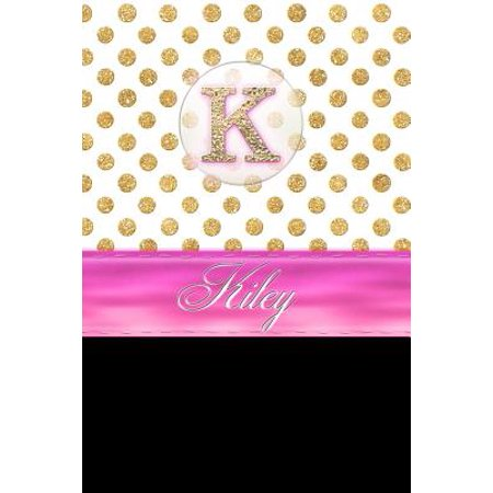 Kiley : Personalized Lined Journal Diary Notebook 150 Pages, 6 X 9 (15.24 X 22.86 CM), Durable Soft Cover](Personalized Diary)