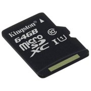 Kingston 64GB microSDXC Class 10 UHS-I 45R Flash Card without Adapter