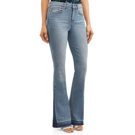 Stretch Hemp (Sofia Jeans Gloria Flare Released Hem High Waist Stretch Jean)