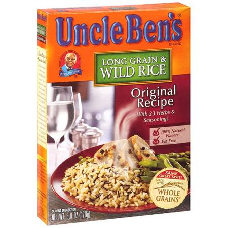 Uncle Ben's Original Recipe Long Grain & Wild Rice, 6 oz