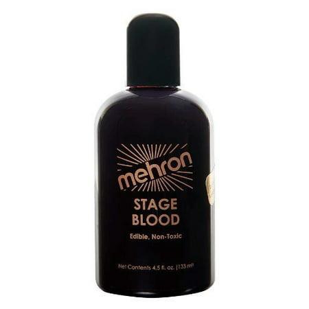 Mehron Stage Blood Dark 4 oz. - Bloody Makeup