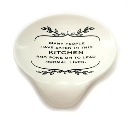 Kitchen NORMAL LIVES SPOON REST Ceramic Kitchen Family 1004180158