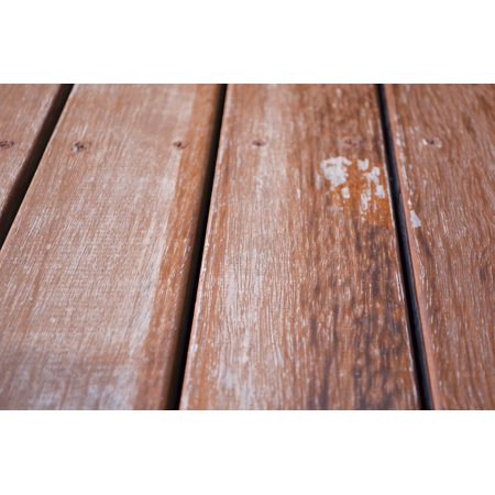 Canvas Print Decking Texture Board Wood Home Floor Surface Stretched Canvas 10 x