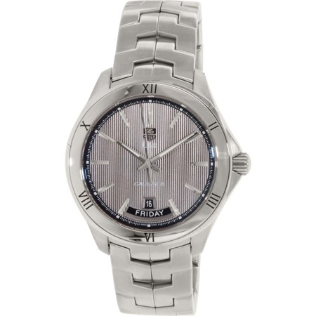 Tag Heuer Men's WAT2015. BA0951 Silver Stainless-Steel Automatic Dress Watch