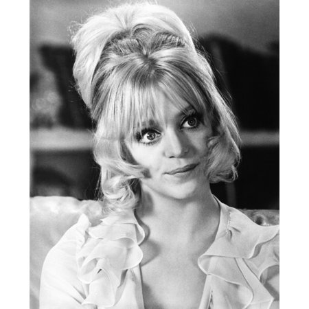 Theres A Girl In My Soup Goldie Hawn 1970 Photo Print