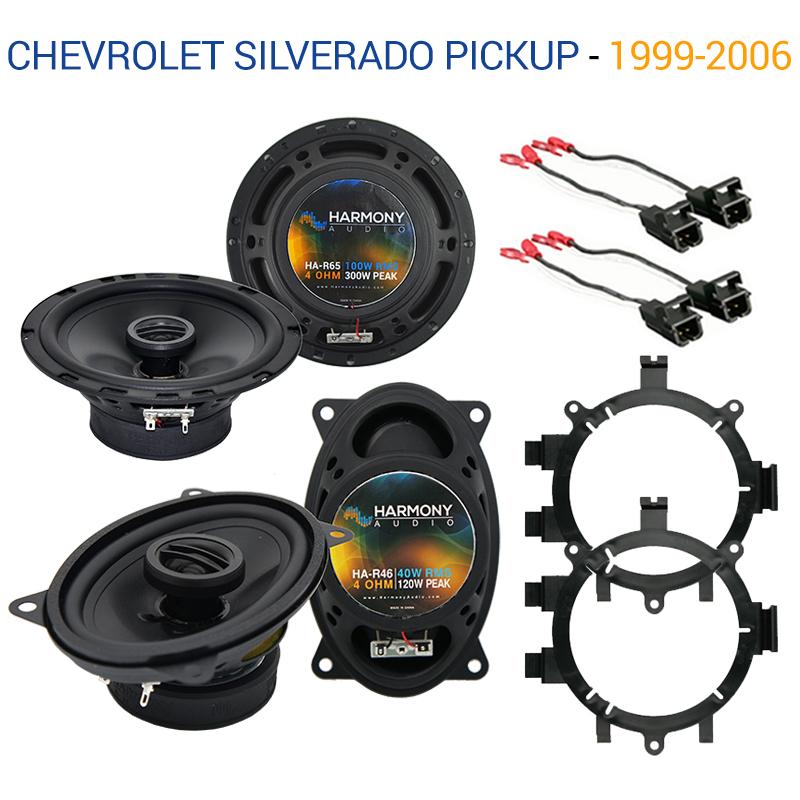 1999-2006 Chevy Silverado Pickup Sport Series Complete Vehicle Speaker Package Upgrade by Skar Audio