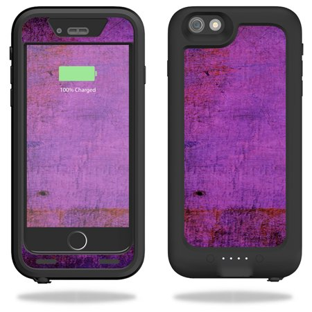 Mightyskins Protective Vinyl Skin Decal For Mophie Juice Pack H2pro For Iphone 6 Plus 6S Plus Case Wrap Cover Sticker Skins Purple Sky