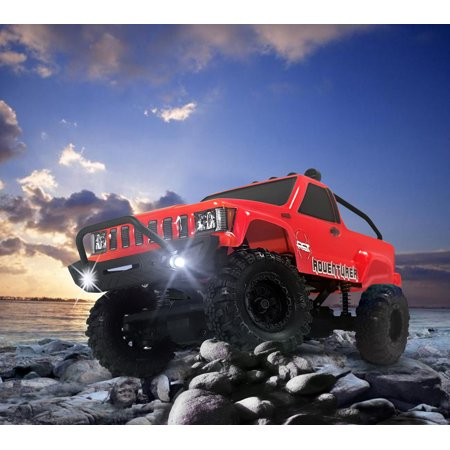 Rgt Rc Crawlers Rtr 1 24 Scale 4Wd Off Road Monster Truck Rock Crawler 4X4 Mini Rc Car With Lights