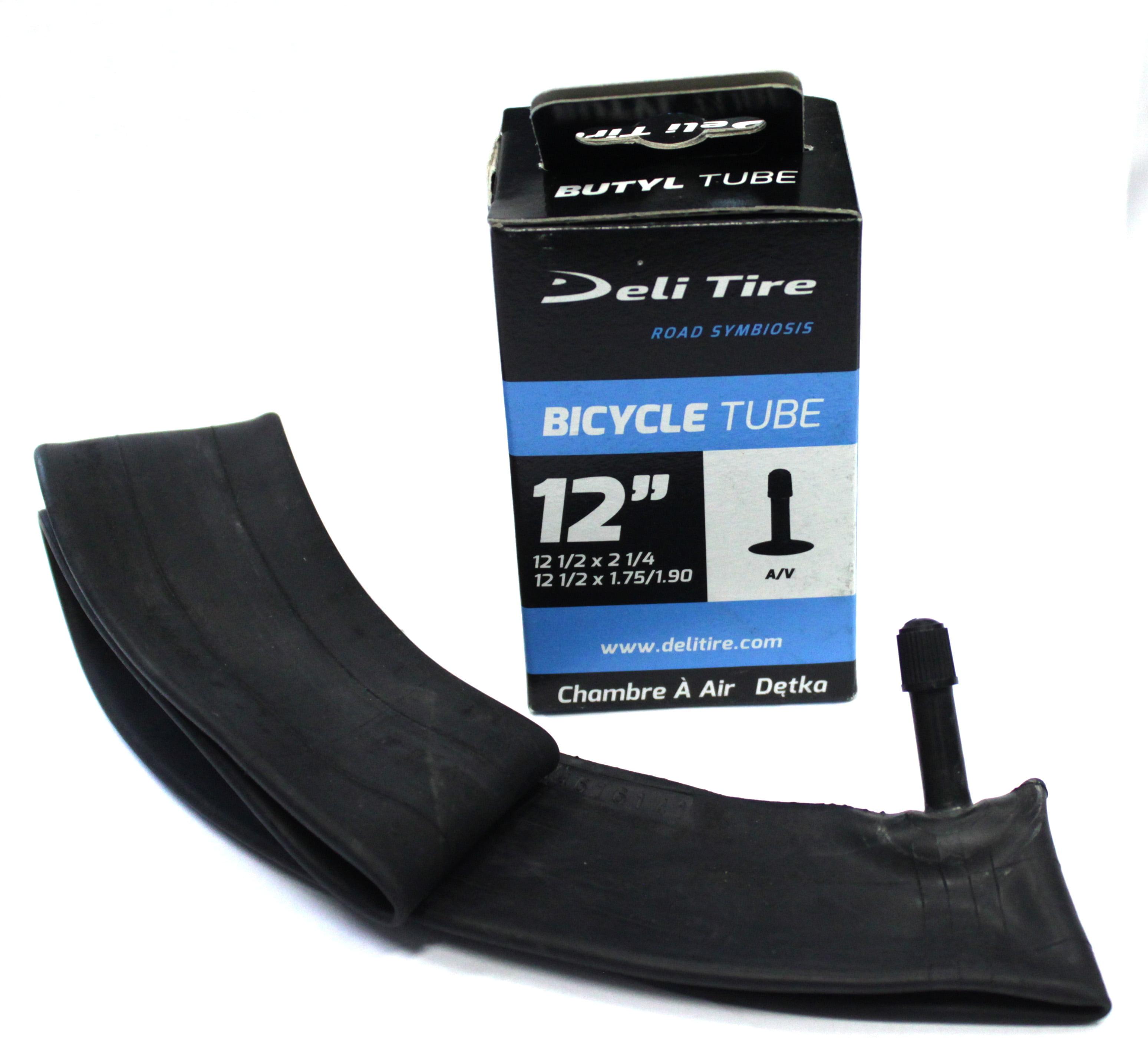 "Schrader Valve 35 mm Deli Bicycle Inner Tube 18/"" x 1.75/"" 2.125/"""