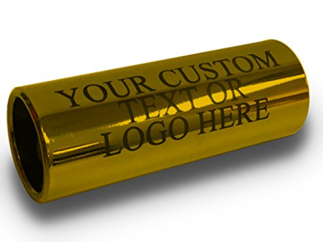 Customized Engraved Personalized Brass Guitar Slide Custom Musician Wedding Groomsman... by