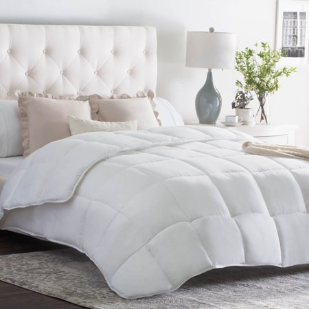 Weekender Quilted Down Alternative Comforter in Classic White, Multiple Sizes - (Best Queen Size Comforters)