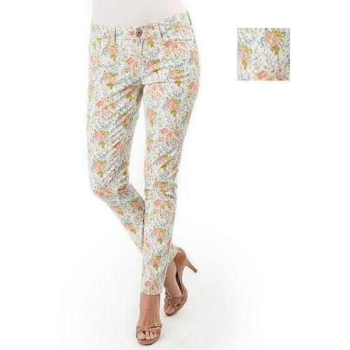 Jordache Women's Printed Skinny Jeans