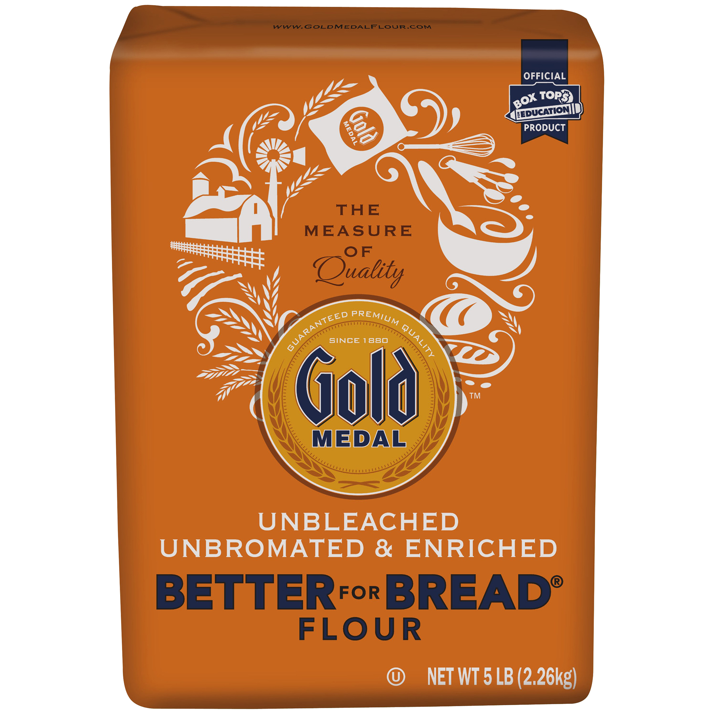 Gold Medal�� Better for Bread�� Flour 5 lb. Bag