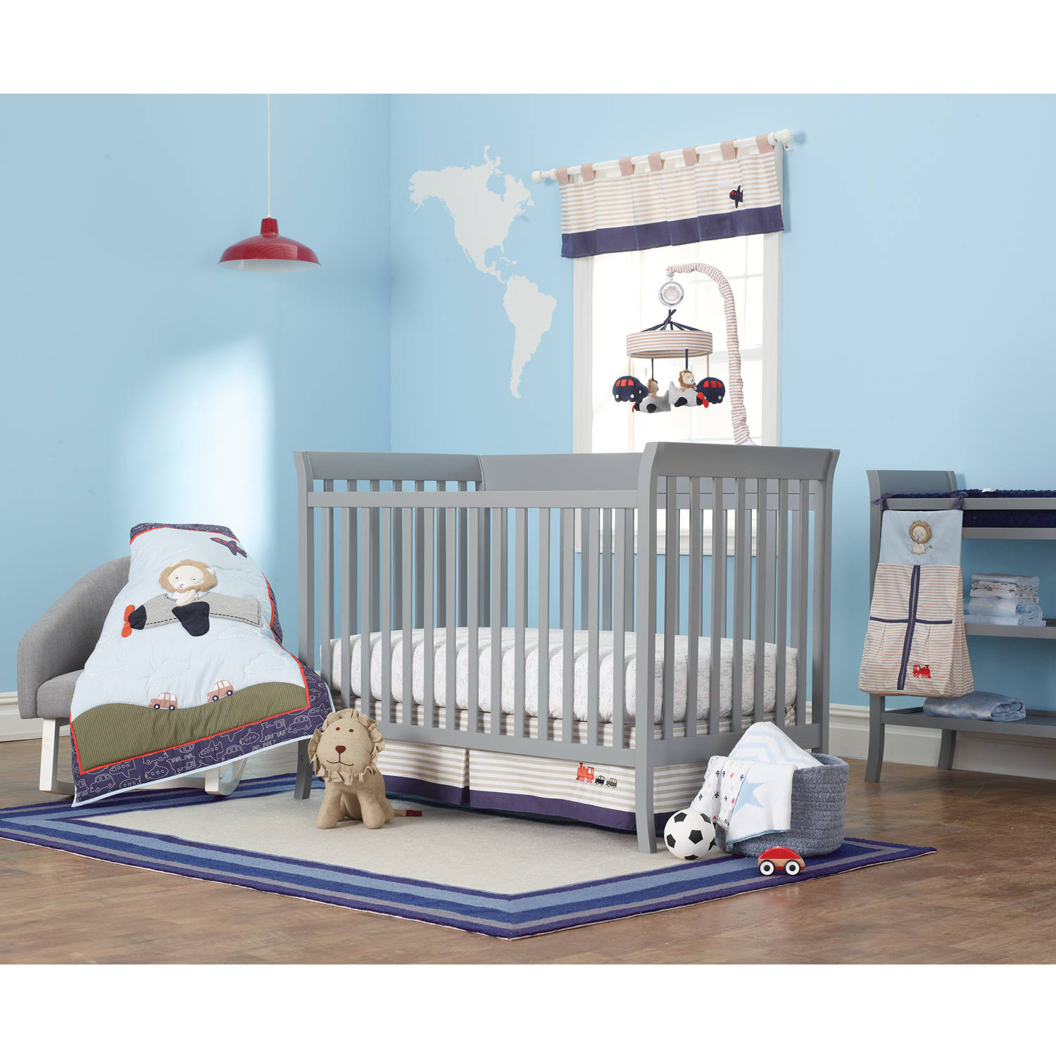Child of Mine by Carter's Transportation 3-Piece Nursery Set