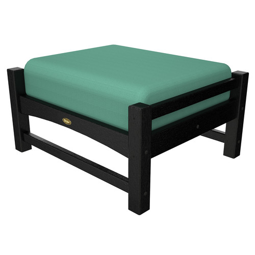 Trex Outdoor Furniture Recycled Plastic Rockport Club Ottoman