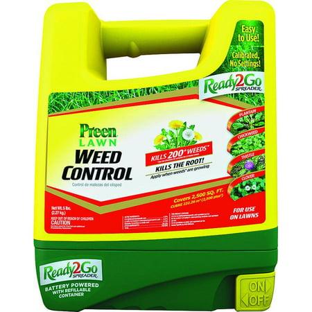 SPREADER WEED CONTROL2.5M R2GO