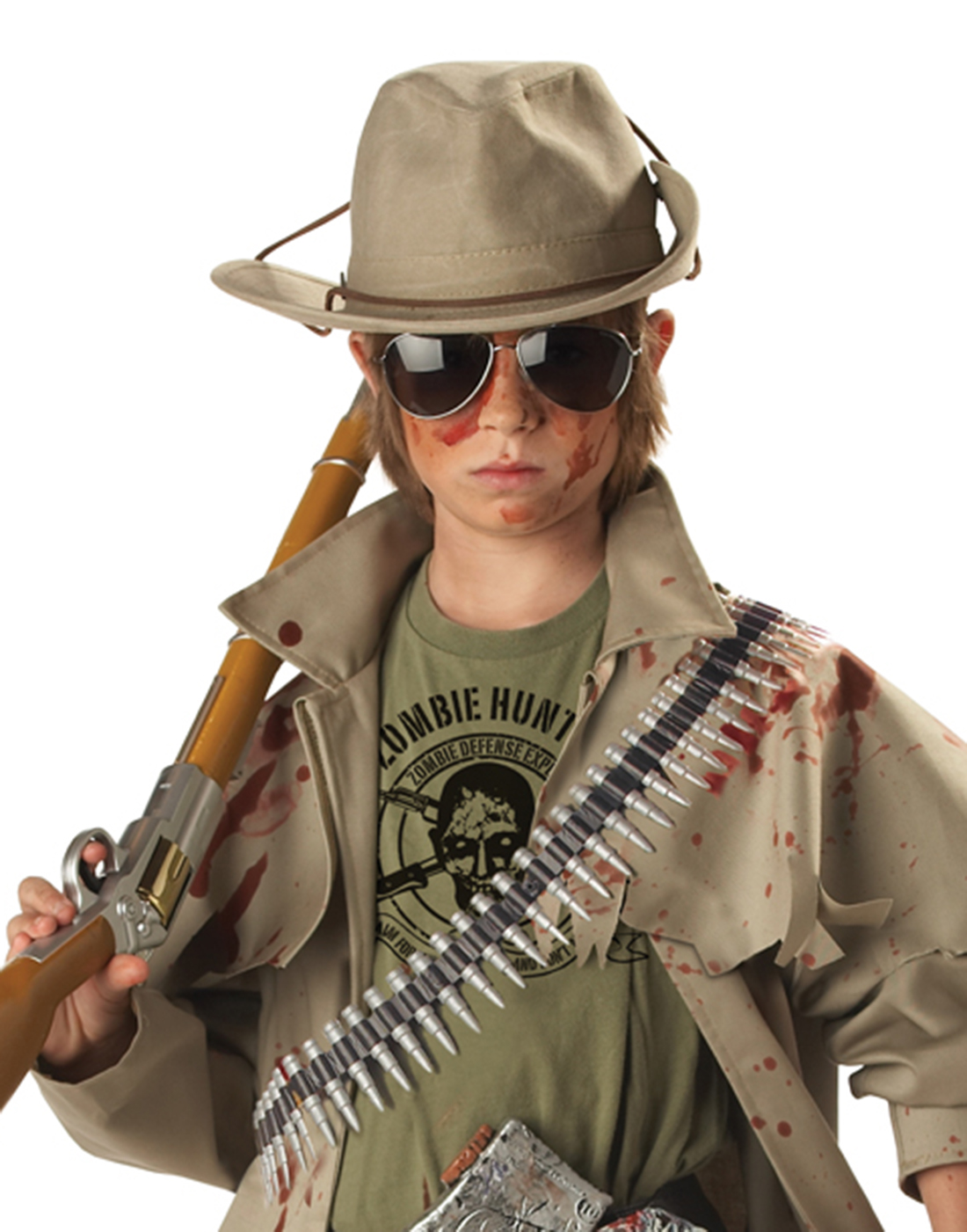 zombie hunter boys' child halloween costume - walmart