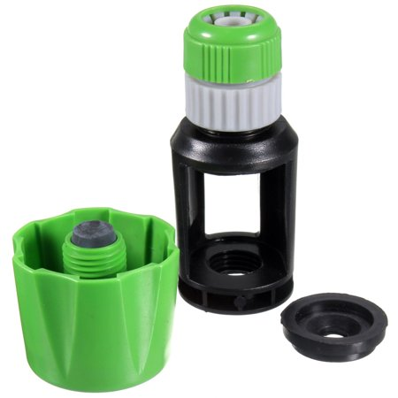 Universal Tap To Hose Pipe Snap Connector Mixer Garden Kitchen Watering Adaptor - image 5 de 7