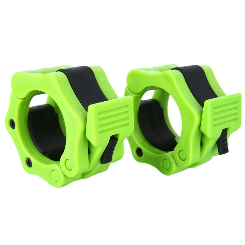 Olympic Barbell Clamps Locking Weight Bar Plate Lock Collar Dumbbell Clips 1Pair