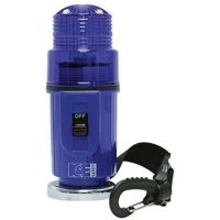 RAILHEAD GEAR M50B-LED Warning Strobe,Blue,LED