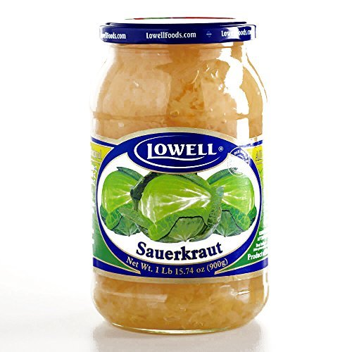 Lowell Sauerkraut 31.7 oz each (2 Items Per Order)