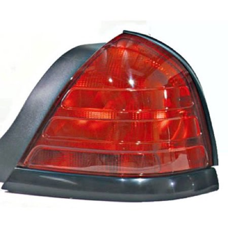 Go-Parts » 1999 - 2011 Ford Crown Victoria Rear Tail Light Lamp Assembly / Lens / Cover - Right (Passenger) Side - (Base Model + LX + Police Interceptor + S + Special Edition) 8W7Z 13404 A)