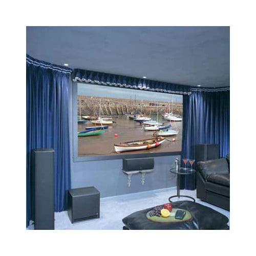 ****DELETE HiDef Grey Onyx Fixed Frame Screen - 92'' diagonal HDTV Format
