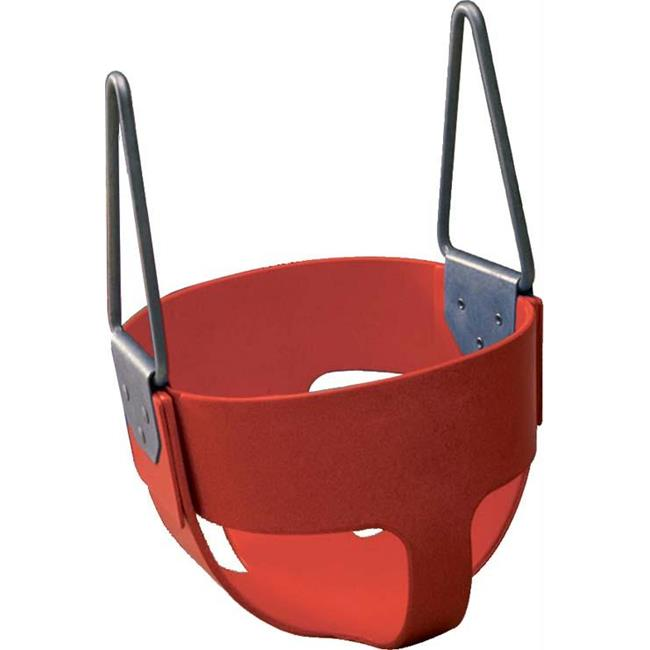 Olympia Sports PG035P Rubber Enclosed Infant Swing Seat - Red