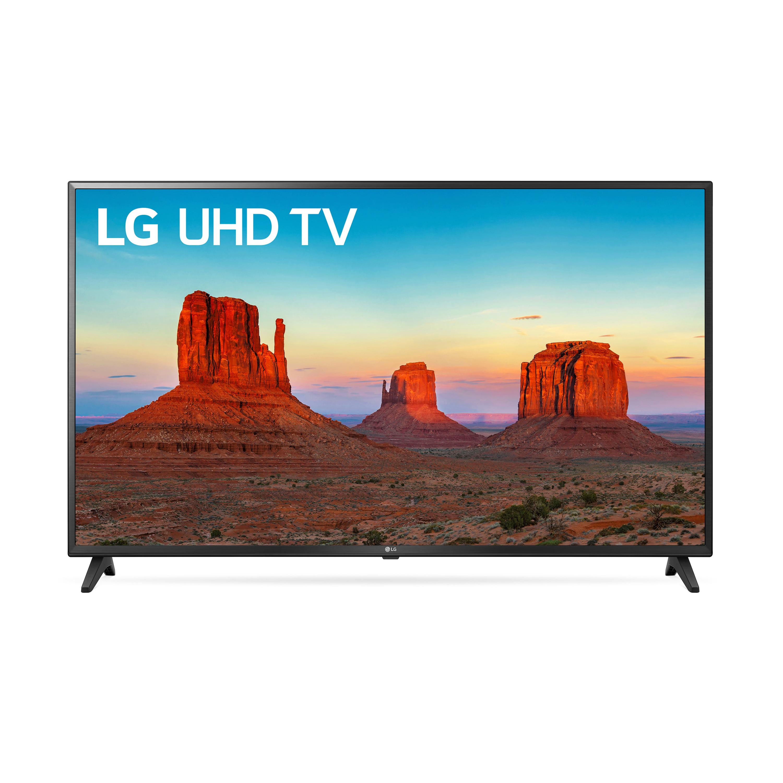"LG 43"" Class 4K (2160) HDR Smart LED UHD TV 43UK6200PUA"