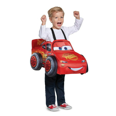 Lightning Mcqueen 3D Toddler Costume - Lightening Mcqueen Costume