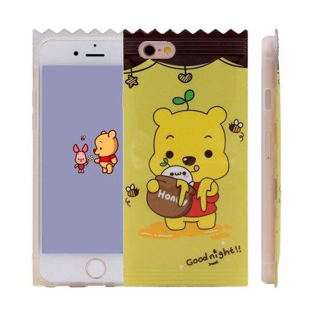 0e2b4374a73d iPhone X Case, Amusing Whimsical Design Clear Bumper TPU Soft Case ...