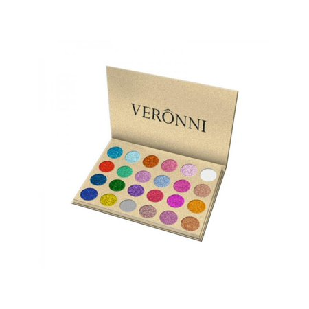 Ultra Pigment - MarinaVida Glitters Eyeshadow Palette Ultra Pigment Make Up Shimmer 24 Colours Eye Shadow