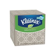 Kleenex Soothing Lotion, Aloe & Vitamin E, 75 Facial Tissues Per Cube Box