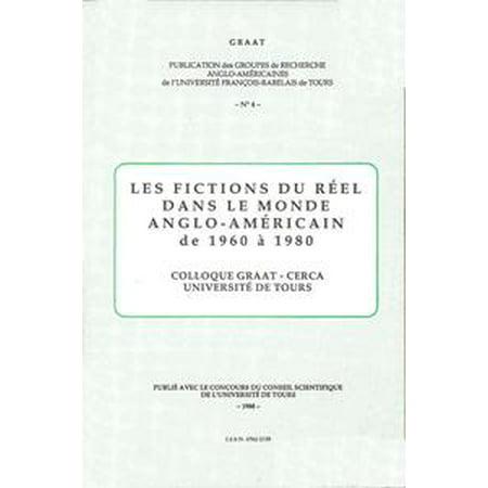 1960 Les Paul Reissue - Les fictions du réel dans le monde anglo-américain de 1960 à 1980 - eBook