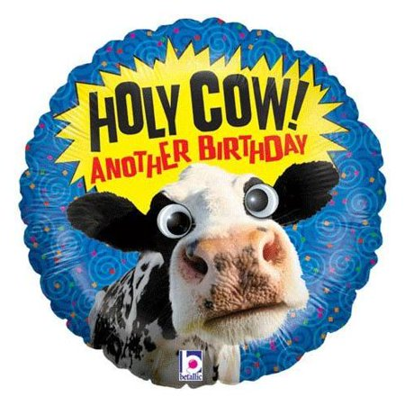 Cow Eye - Betallic Holy Cow Googly Eyes Blue Birthday  21
