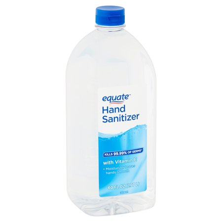 Equate Hand Sanitizer with Vitamin E, 60 fl oz
