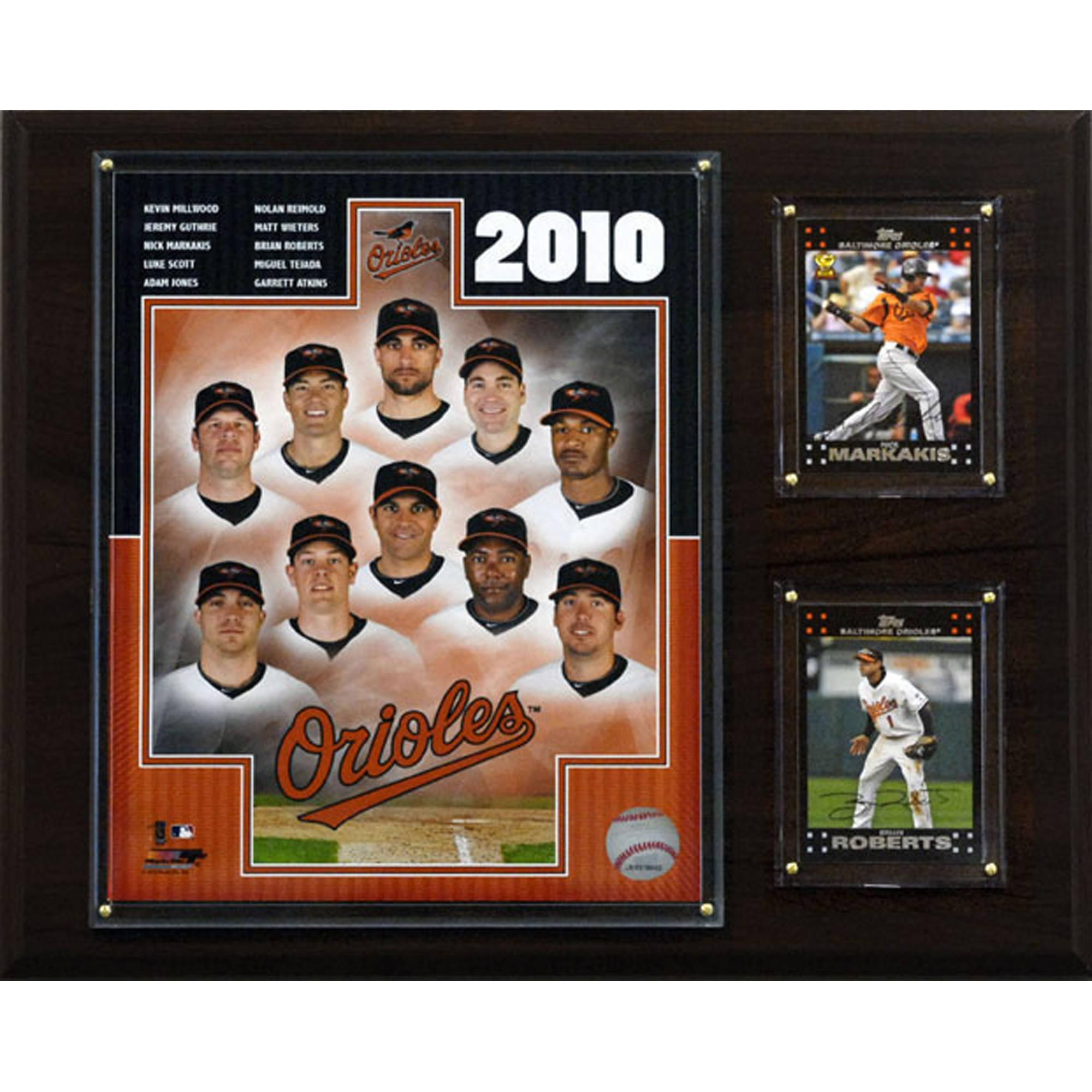 C&I Collectables MLB 12x15 Baltimore Orioles 2010 Team Plaque