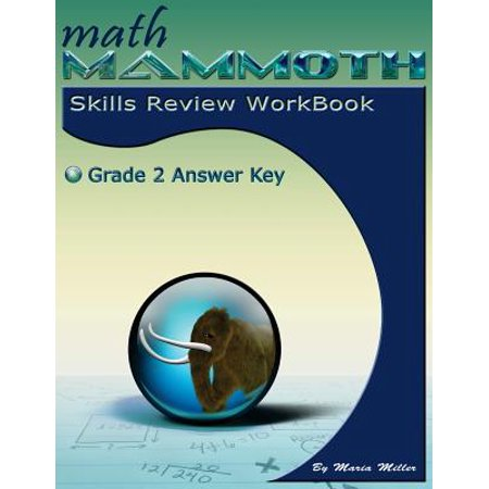 Math Mammoth Grade 2 Skills Review Workbook Answer Key (Key To Math Series)