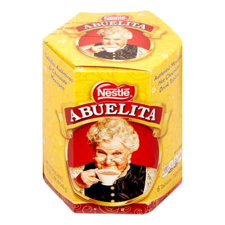 (4 Pack) Nestle ABUELITA Authentic Mexican Hot Chocolate Drink Tablets 19 oz. Box Maple Hot Chocolate