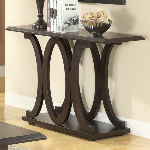 Coaster Transitional Sofa Table, Cappuccino Finish by Coaster Company
