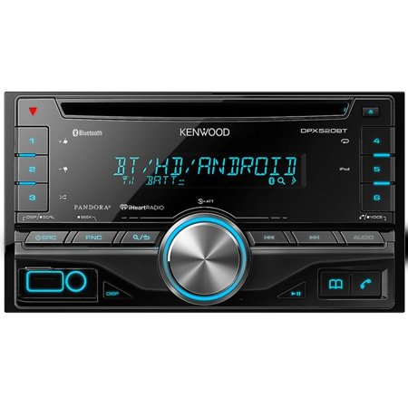 Kenwood DPX520BT Double DIN CD/AM/FM/Digital Media Car Stereo