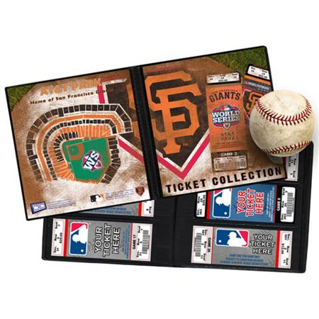 Baseball Photo Album - 2012 World Series Ticket Album - San Francisco Gia